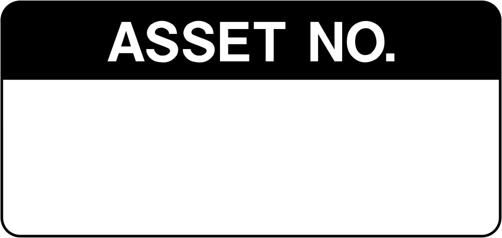 Asset No. Labels