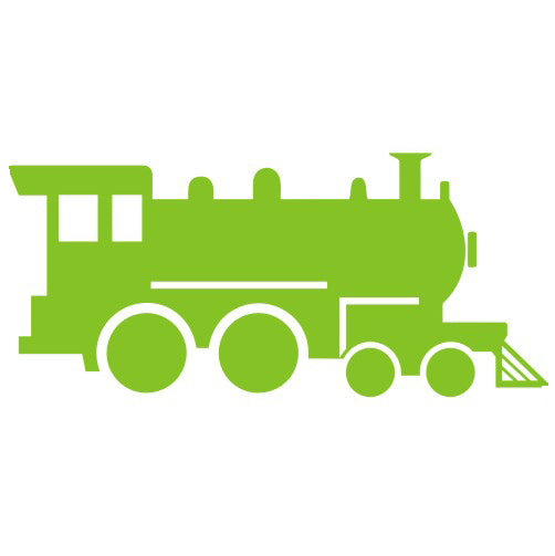 Train Vinyl Graphic