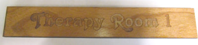 Engraved Wooden Door Sign