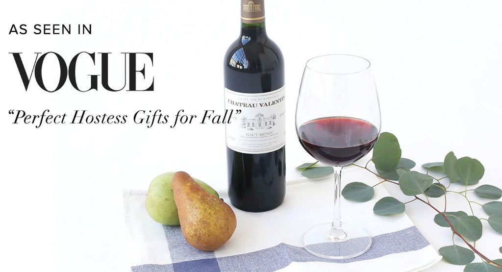 We Are The Perfect Hostess Gift, According to Vogue!