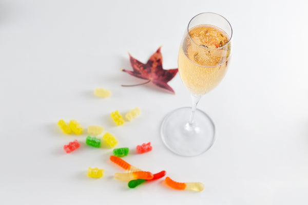 wine to pair with gummy bears and gummy worms