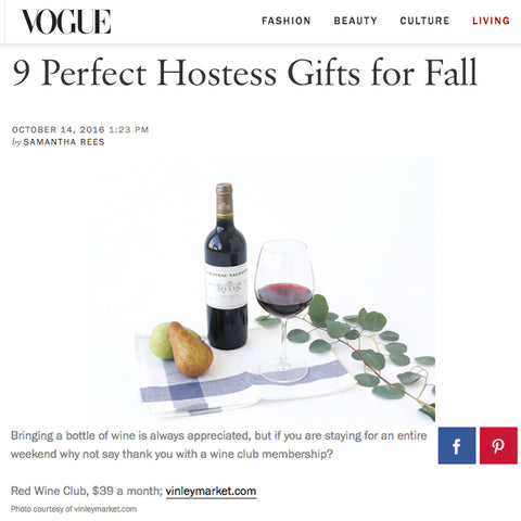 Vinley Wine Club in Vogue