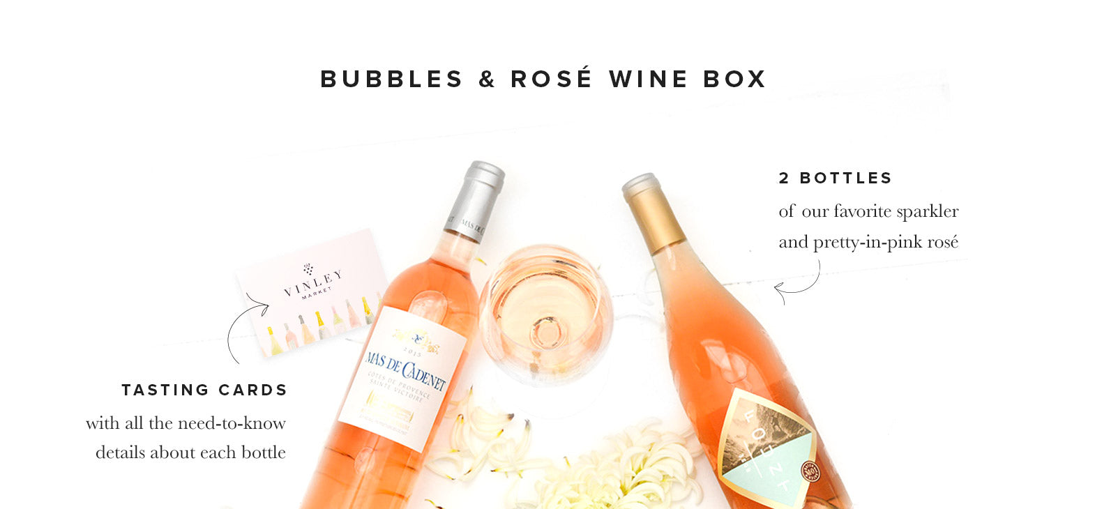 Vinley Bubbles & Rose Wine Box