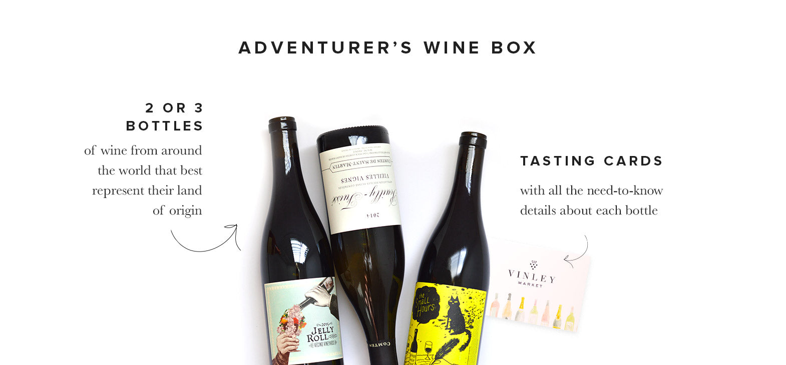 Vinley Adventurer's Wine Box