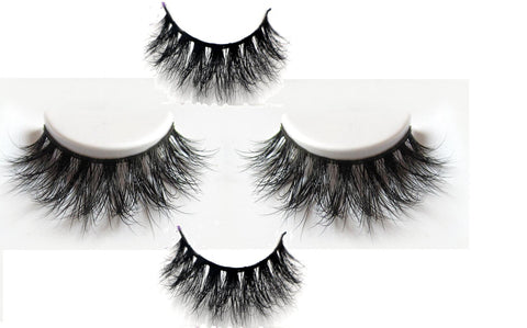 3D MINK EYELASHES 40pair/lot Free Shipping Mixed Different Styles