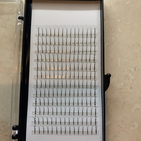 4D Eyelashes Extension , 0.07 C curl
