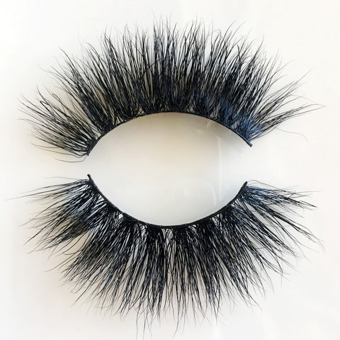 25mm 8D MINK EYELASHES 8DX058