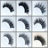 Mink Lashes 500pair/Lot Free Shipping Mixed Different Styles