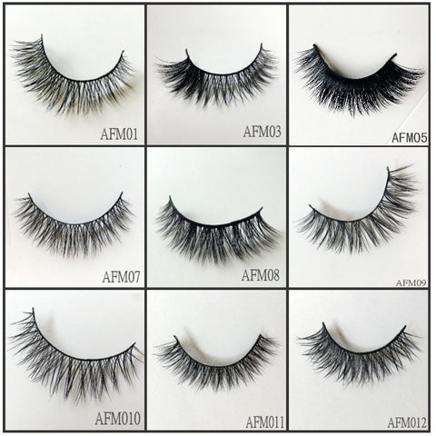Mink Lashes ,30pairs/lot Free Shipping Mixed Different Styles