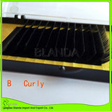 Individual Eyelash Extension , 0.20 D curl, slik eyelash extension