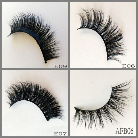 mink lashes AFB06
