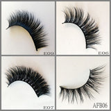 Mink Lashes ,100pair/lot Free Shipping Mixed Different Styles
