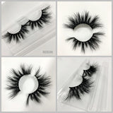 25mm 8D MINK EYELASHES 8DX08