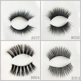 Faux Mink Eyelash 1000pair/lot Free Shipping Mixed Different Styles