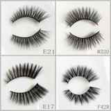 Faux Mink Eyelash 400pair/lot Free Shipping Mixed Different Styles