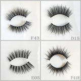 Silk Eyelash 1000pair/lot Free Shipping Mixed Different Styles