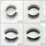 Silk Eyelash 500pair/lot Free Shipping Mixed Different Styles