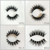 Faux Mink Eyelash 20pair/lot Free Shipping Mixed Different Styles