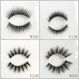 Silk Eyelash 100pair/lot Free Shipping Mixed Different Styles