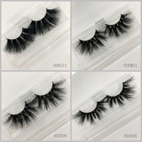 3D MINK EYELASHES 20pair/lot Free Shipping Mixed Different Styles
