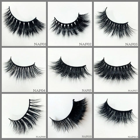Mink Lashes ,300pair/lot Free Shipping Mixed Different Styles