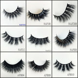 mink lashes 60pairs/lot Free Shipping Mixed Different Styles