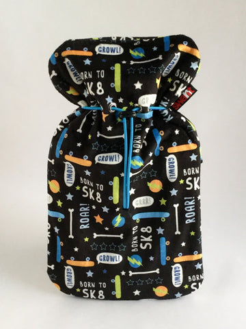 SK8 Plush Cover with Deluxe 2.0L Hot Water Bottle