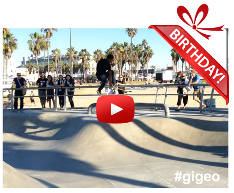 Gigeo® - Unique Personalized Birthday Gift Ideas - BIG AIR SKATEBOARDING <br> Personalized Shout-Out - WhoLovesYou.ME - 1