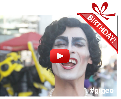 Gigeo® Personalized Videos - FRANKnFURTER BIRTHDAY VIDEO GREETING - WhoLovesYou.ME - 1