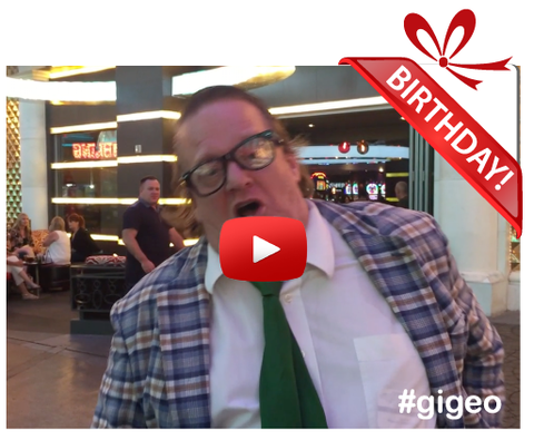 Gigeo® Personalized Videos - CHRIS FARLEY IMPERSONATOR BIRTHDAY VIDEO GREETING - WhoLovesYou.ME - 1