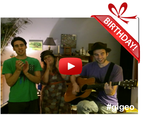 Gigeo® Personalized Videos - THE MANY SPLENDORED THINGS BIRTHDAY VIDEO GREETING - WhoLovesYou.ME - 1