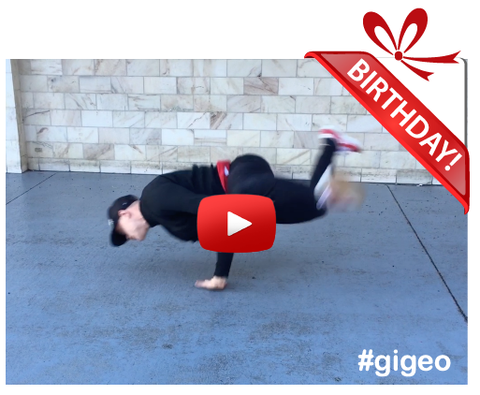 Gigeo® Personalized Videos - STREET DANCE PERFORMANCE BIRTHDAY VIDEO GREETING - WhoLovesYou.ME - 1