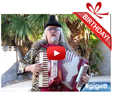 Gigeo® Personalized Videos - ZANY SQUEEZE BOX HERO BIRTHDAY VIDEO GREETING - WhoLovesYou.ME - 1