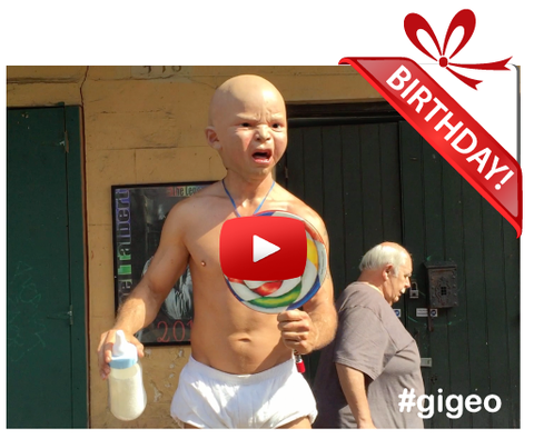 Gigeo® Personalized Videos - THE ANGRY BABY PERSONALIZED BIRTHDAY VIDEO GREETINGS - WhoLovesYou.ME - 1