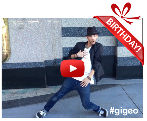 Gigeo® Personalized Videos - STREET DANCE BIRTHDAY VIDEO GREETING by VENDHY 837 CREW - WhoLovesYou.ME - 1