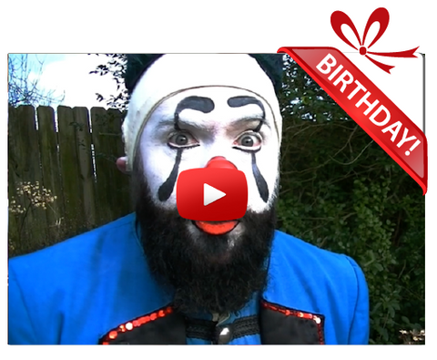 Gigeo® Boozn Bozo Personalized Birthday Greetings