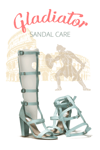 Gladiator Sandal Care