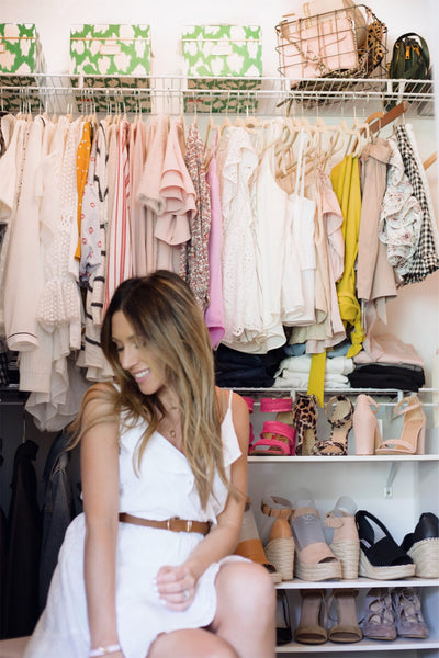 Living Life Pretty Closet Organizing