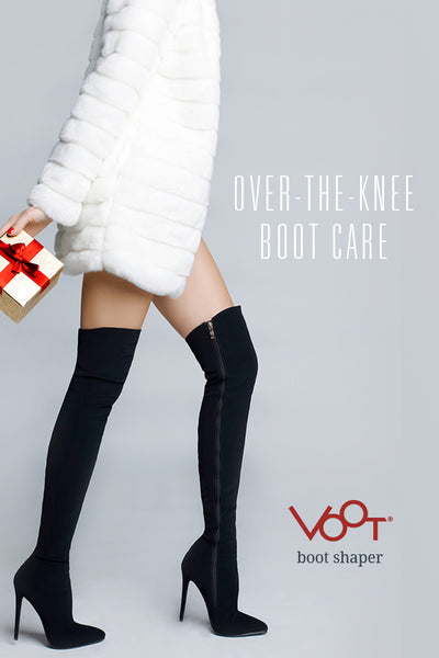 Over-the-knee boot care