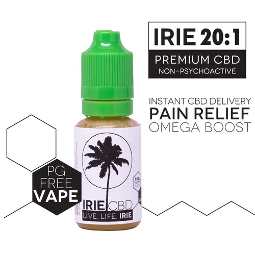 Irie CBD PG-Free Vape Blend 100mg - 15 ml (Natural Flavor)