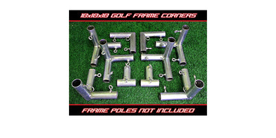 Cimarron Sports - 10 x 10 x 10 Golf Frame Corners