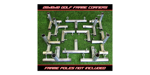 Cimarron Sports - 20 x 10 x 10 Golf Frame Corners