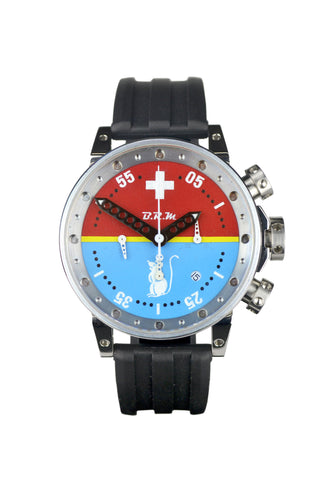 "Hunziker BRM Art Watch - Production No. A03 - ""Raceday"""