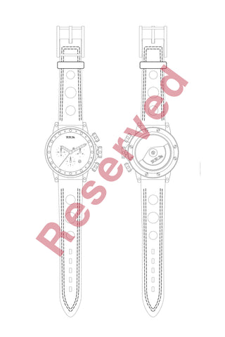 "Hunziker BRM Art Watch - Production No. A02 - ""Viola"""