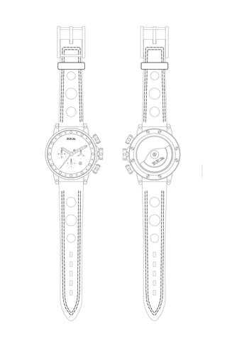 Hunziker BRM Art Watch - Production No. A18