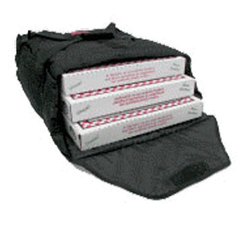 "AB220 - Case of 10 Bags - Economical Pizza Bag - Carries three or four 20"" (22""L x 21""W x 7½""H)"