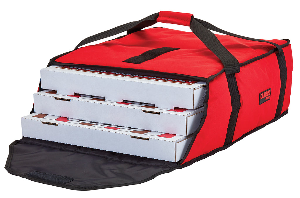 "AB318 - Standard Pizza Bag - Carries three 18"" or four 16"" (17.5""L x 20""W x 7.5""H)"