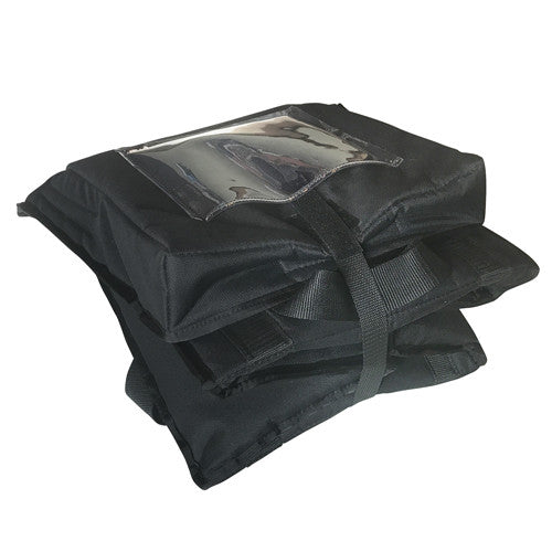 Folded Down Medium Insulated Catering Bag by Thermal Bags by Ingrid