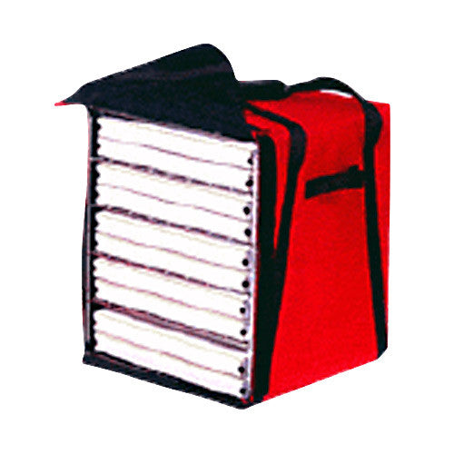 "BG218 - Premium Pizza Bag - Carries ten 18"" (19""L x 19""W x 22""H)"