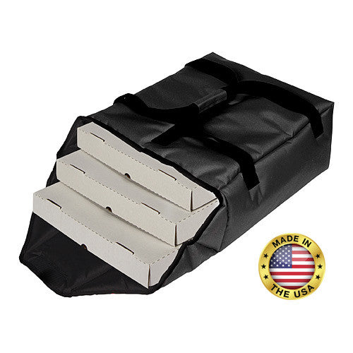 "TP180 - Premium Pizza Bag - Carries two 18"" or three 16"" (19½""L x 18½""W x 7½""H)"